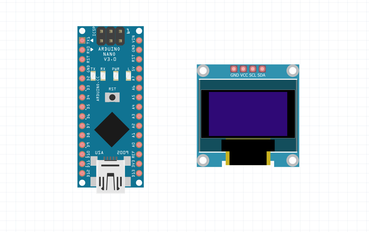Arduino and Oled display