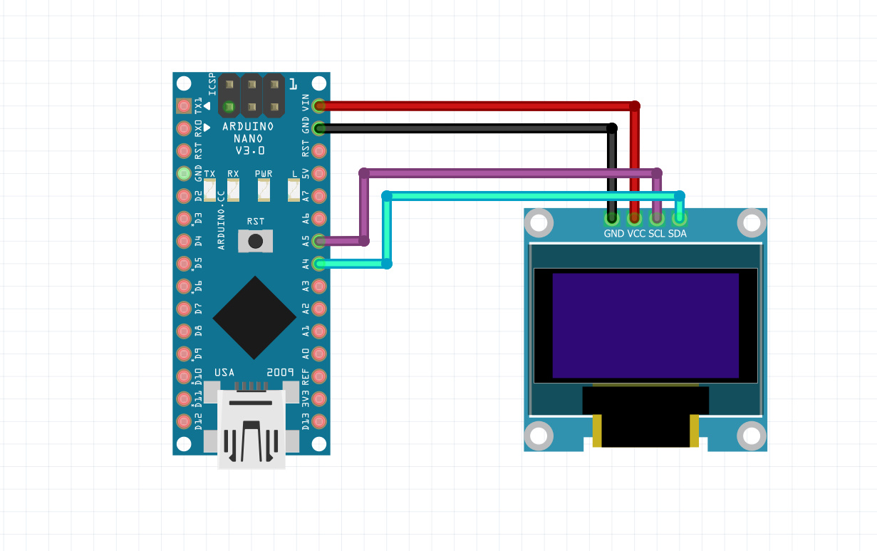 Build a simple oscilloscope with Arduino and Oled display