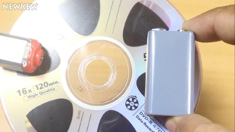 اتصال موتور به CD جهت ساخت ربات شیطونک - دیجی اسپارک