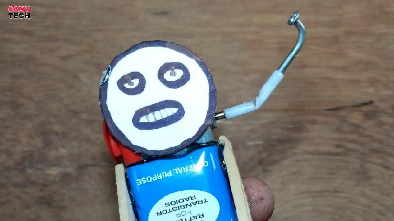 ساخت موتور ویبره با میخ و نی نوشابه در ساخت ربات پول جمع کن - دیجی اسپارک