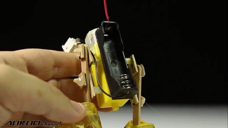 اتصال جاباتری به ربات ماه نورد با موتور گیربکس دار - دیجی اسپارک