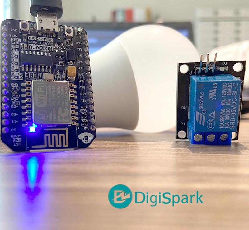 کنترل وسایل برقی با Siri و برد ESP8266 - دیجی اسپارک