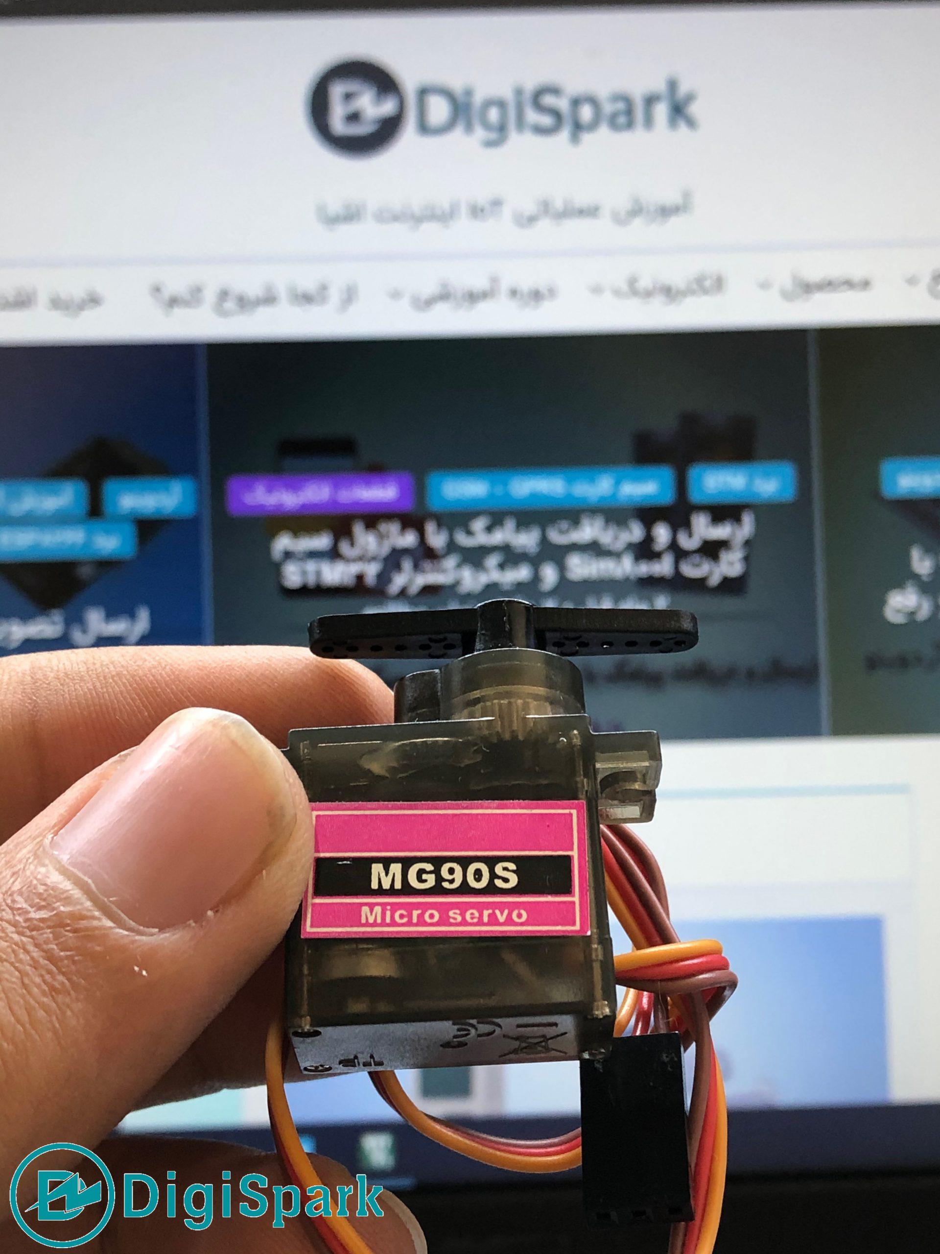 راه اندازی سرو با STM32 - دیجی اسپارک