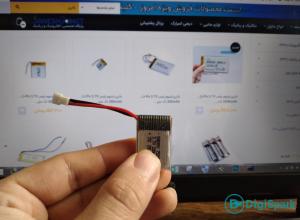 باتری لیتیومی قابل شارژ - تشخیص سطح شارژ باتری - دیجی اسپارک