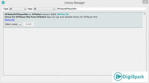 نصب کتابخانه DFPlayerMini.h در آردوینو - دیجی اسپارک