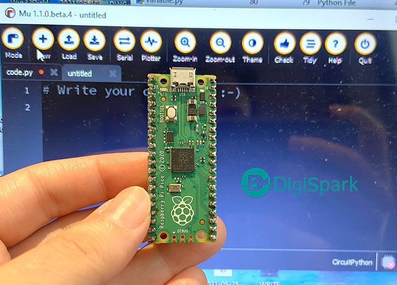 نصب CircuitPython روی پیکو - دیجی اسپارک