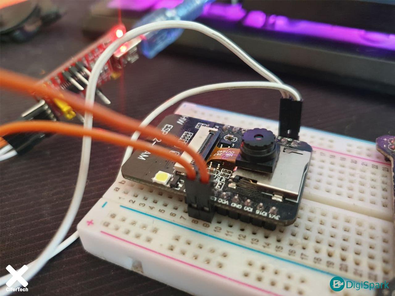نحوه کار تشخیص اشیا با دوربین ESP-Cam - دیجی اسپارک