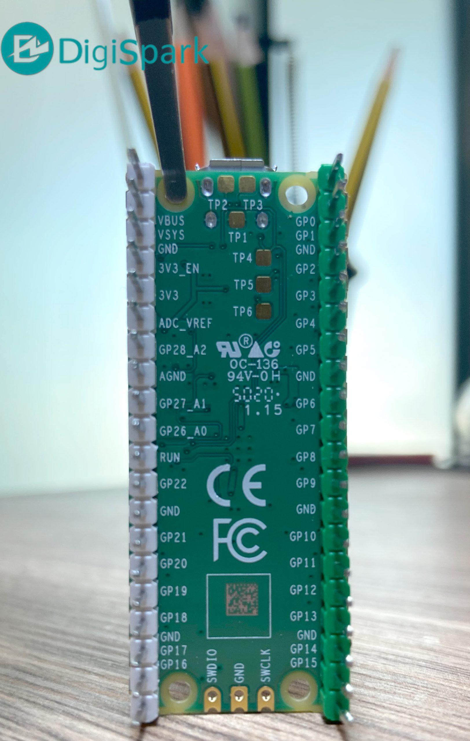 استفاده از ADC رزبری پای پیکو Pico - دیجی اسپارک