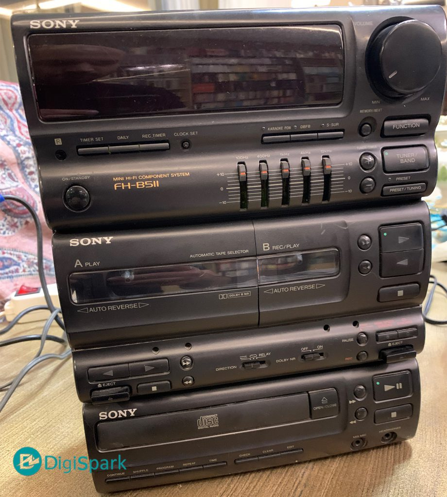 بازیابی ضبط صوت قدیمی سونی Sony - دیجی اسپارک