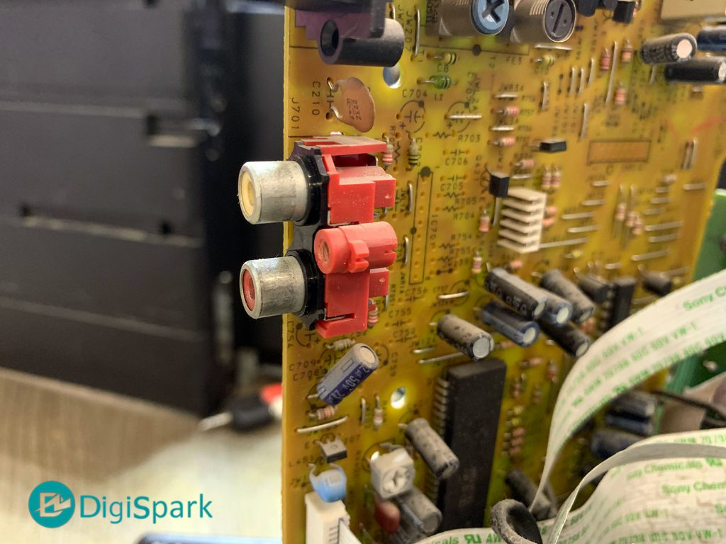 اتصال ماژول MP3 Player به ضبط صوت قدیمی سونی - دیجی اسپارک