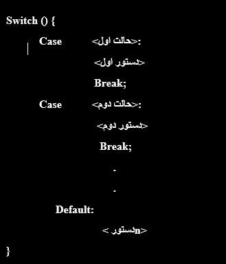 ساختار تصمیم switch در برنامه نویسی آردوینو - دیجی اسپارک