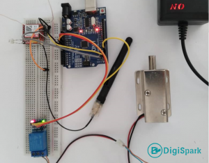 پروژه درباز کن با تماس تلفنی DTMF و ماژول سیم کارت - دیجی اسپارک
