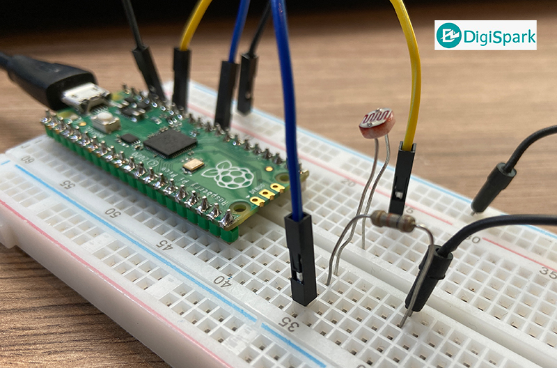 اتصال فتوسل به رزبری پای پیکو Pico - دیجی اسپارک