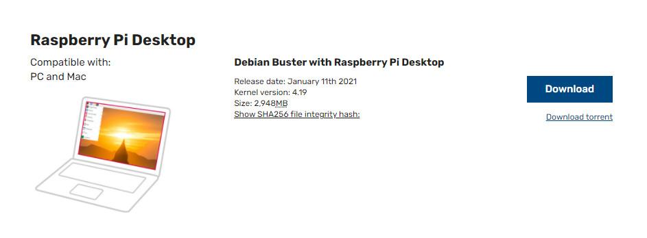 سیستم عامل رزبری پای دسکتاپ Raspberry Pi Desktop - دیجی اسپارک