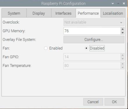تنظیمات Performance سیستم عامل رسپبری پای - دیجی اسپارک
