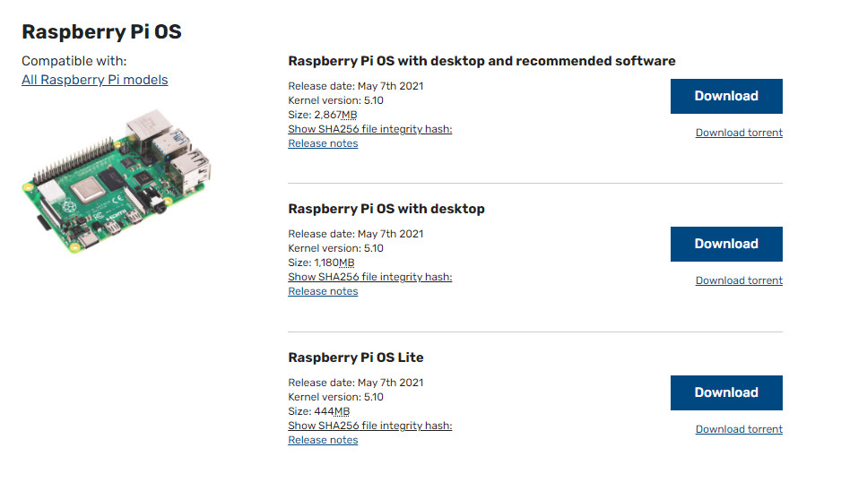 رزبری پای او اس Raspberry Pi OS - دیجی اسپارک