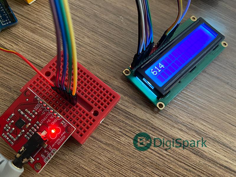 عددهای خروجی سنسور ضربان فلب AD8232 ECG - دیجی اسپارک