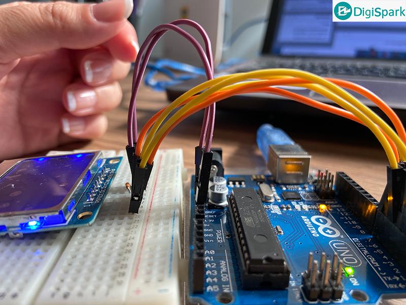 راه اندازی LCD نوکیا با آردوینو - دیجی اسپارک