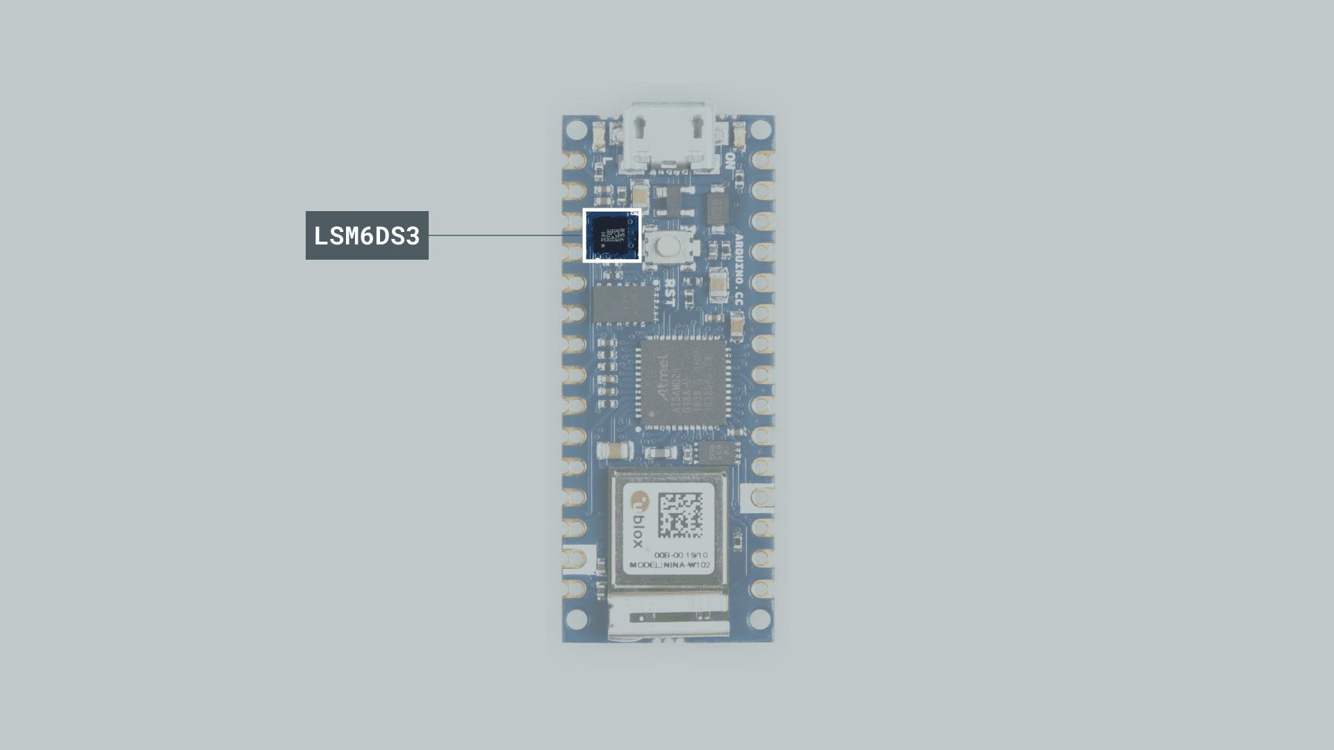 سنسور اینرسی LSM6DS3 برد آردوینو Nano 33 - دیجی اسپارک